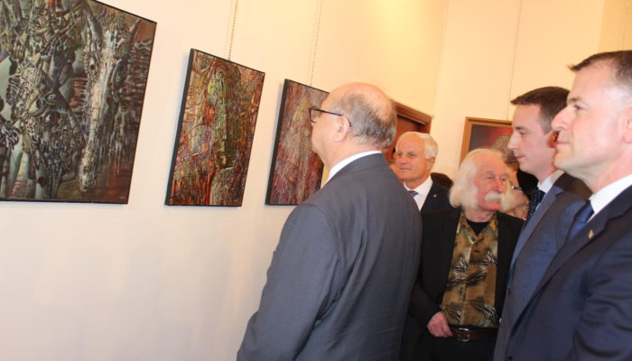 exhibition of Ukrainian artist Ivan Marchuk - image